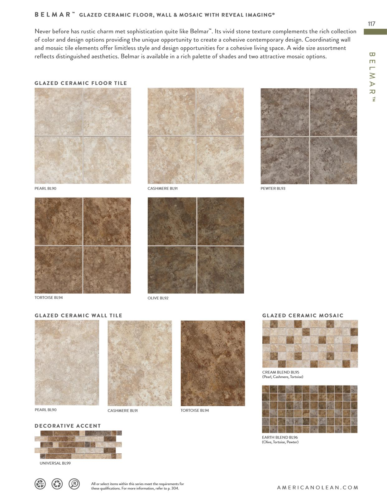 Product Catalog Page 117 Floor Wall Mosaic